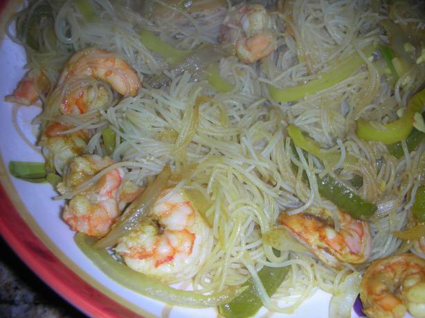 Stir-Fried Rice Noodles With Curried Shrimp - America's Test Kit
