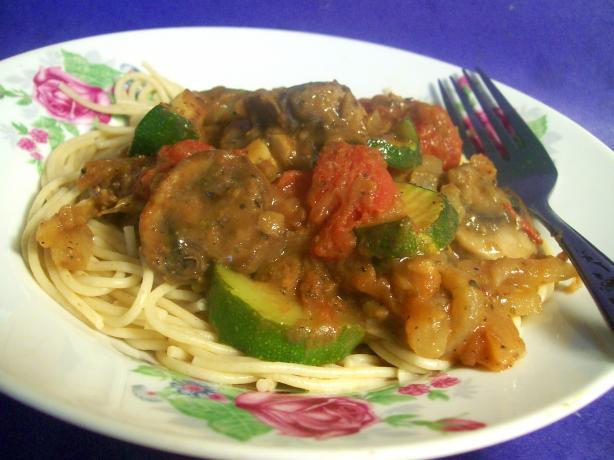 Spaghetti With Lentil Bolognaise