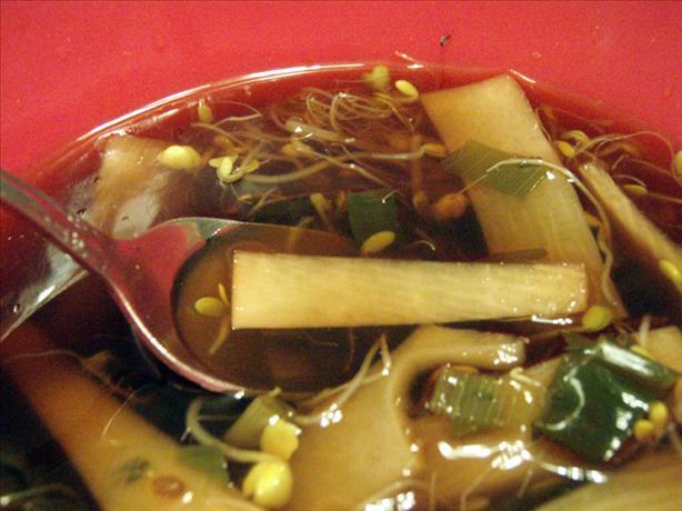 Clear Oriental Soup
