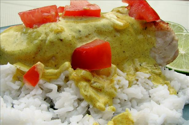Chicken Breasts With Lime Curry Sauce