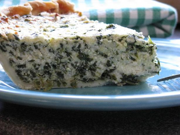 Quick Ricotta and Spinach Pie