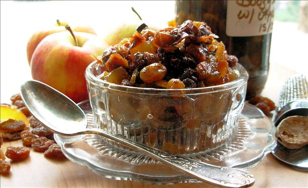 Traditional British Boozy Mincemeat - Fat Free