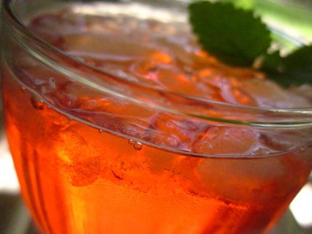 Orange-Grenadine Iced Tea
