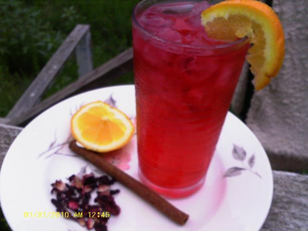 Jamaican Hibiscus Iced Tea
