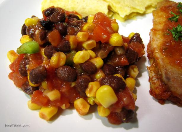 Cindy's Black Bean and Corn Fiesta Salad