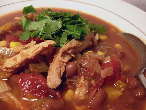 Slow Cooker Chicken Taco Stew