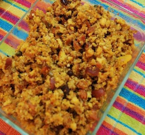 Sausage-Pumpkin Cornbread Stuffing