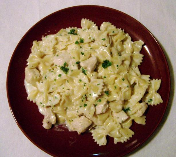 Lemon Cream Chicken With Pasta