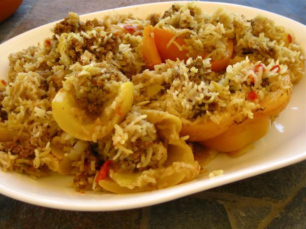 Iraqi Stuffed Zucchini (Cousa Mashi)