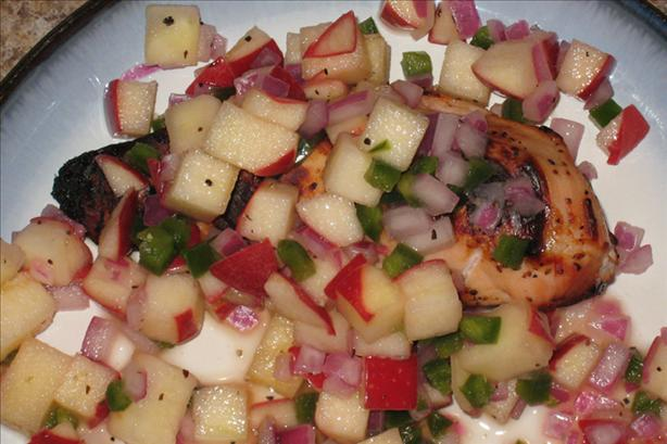Apple Salsa With Chicken