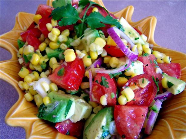 Avocado, Tomato & Corn Salad/Salsa