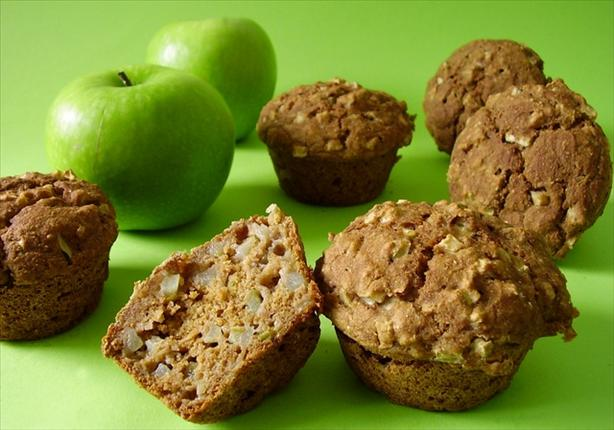 Apple Oat-Bran Muffins