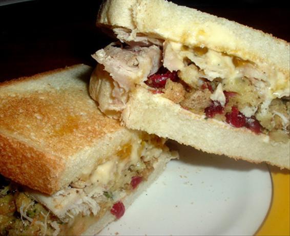 Day After Turkey Sandwich
