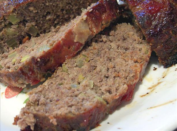 Buffalo Meatloaf With Brown Sugar and Ketchup Glaze