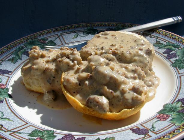 Sausage Breakfast Gravy (For Biscuits)