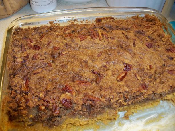 Dawn's Pumpkin Pecan Dump Cake