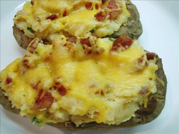 Cheesy Bacon Baked Potatoes