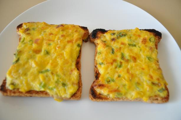Cheesy Corn Toasties