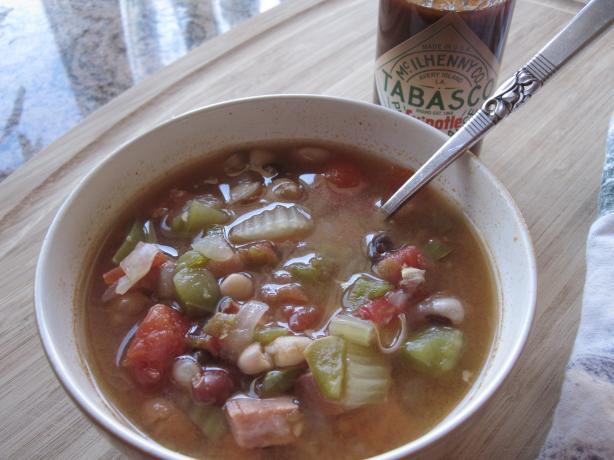 Cajun Style White Bean Soup