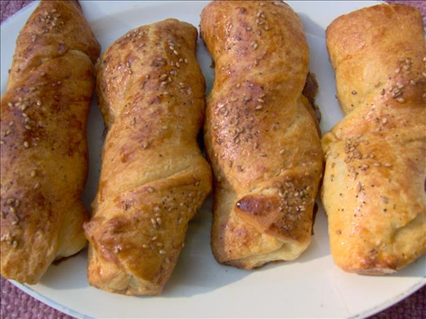 Easy Crescent Cheddar Twists