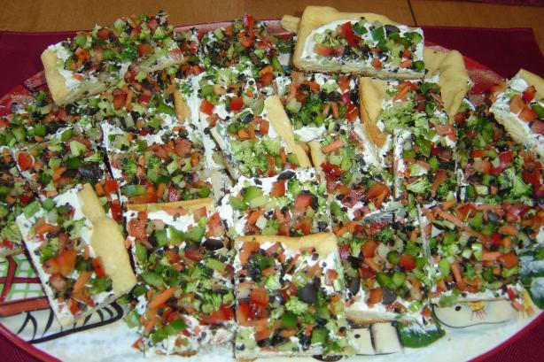Linda's Mexican Veggie Pizza