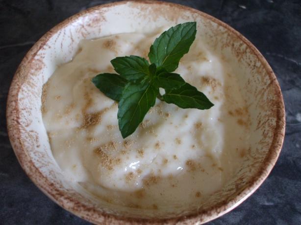 Creamy Pudding (Yalanci Tavukgogsu)