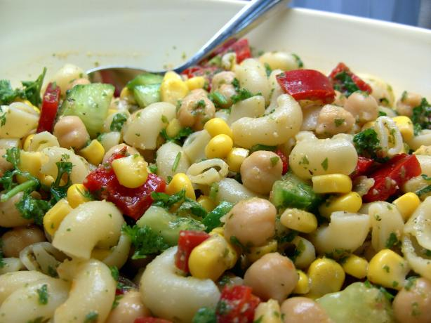 Pasta and Chickpea Salad