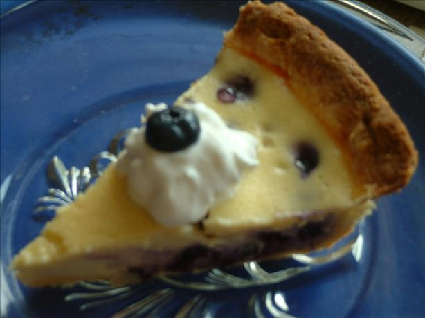 Blueberry Goat Cheese Tart