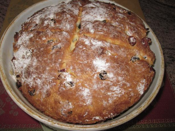 Nana's Irish Soda Bread With Whiskey Soaked Raisins