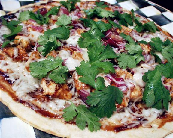 BBQ Chicken Pizza - California Pizza Kitchen Style Made Over!