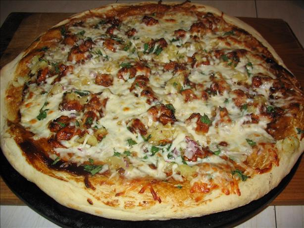 California BBQ Chicken Pizza