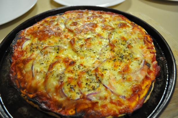 Pizza Topping - Smoked Salmon Pizza