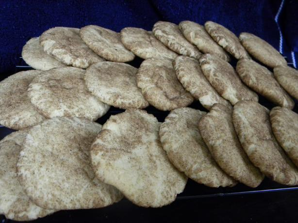 Cinnamon Swirl Sugar Cookies (A.k.a. Snickerdoodles)