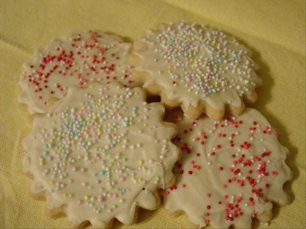 Vanilla Bean Spice Sugar Cookies