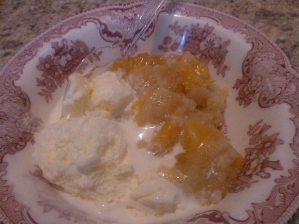 Gluten Free Granny's Peach Cobbler Recipe
