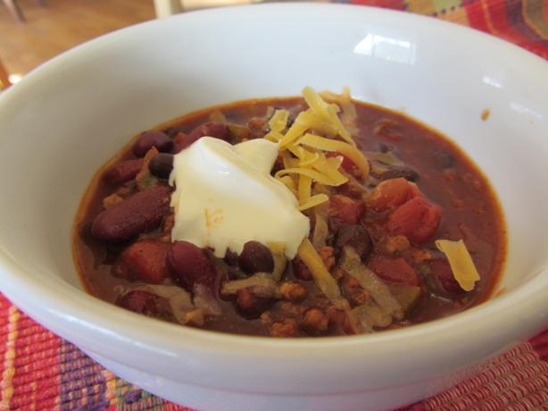 Jo Mama's Turkey Chili