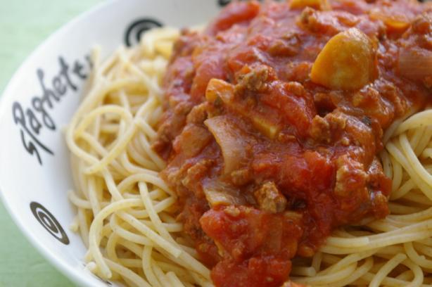 Basic Spaghetti Meat Sauce