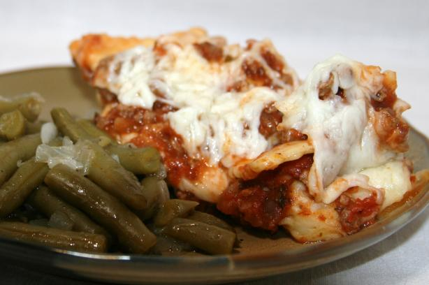 Easy Ravioli Lasagna - Crock Pot