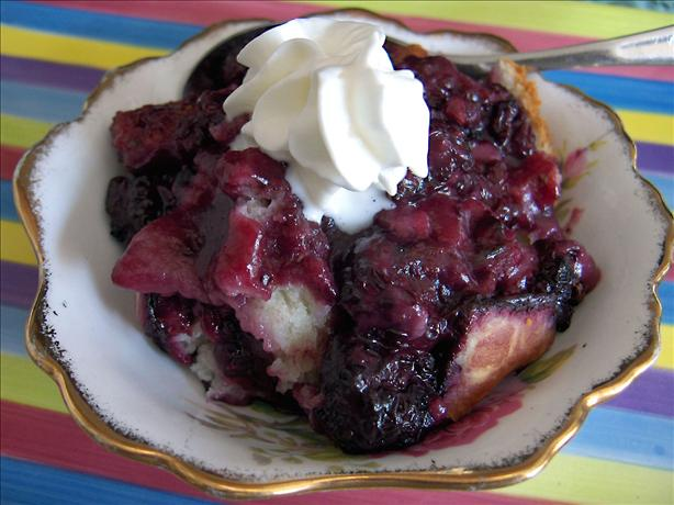 Blackberry Cobbler (Quick and Easy)