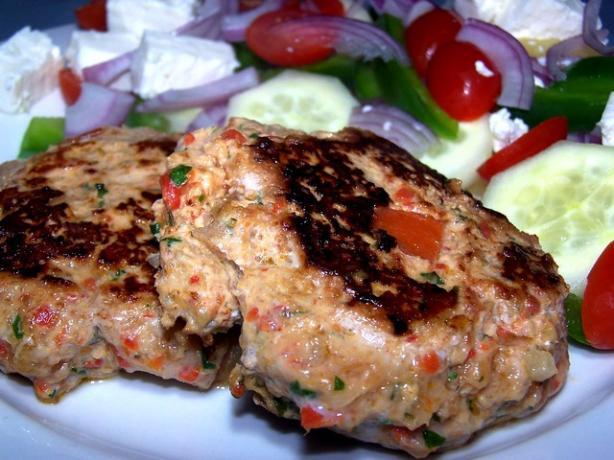 Italian Turkey Burgers (Reduced Fat)