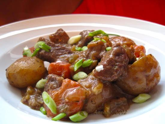 One Pot Oven Baked Beef
