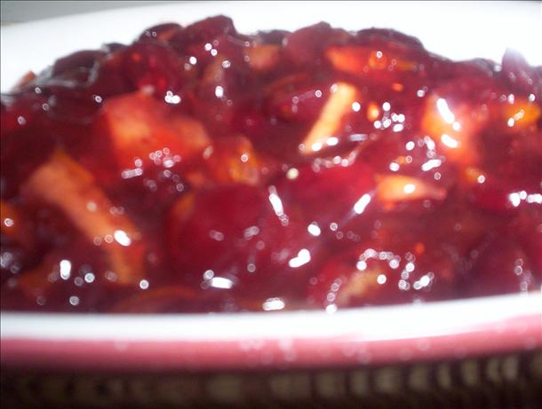 Cranberry Orange Zinfandel Sauce