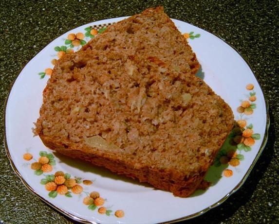 Apple-granola Bread
