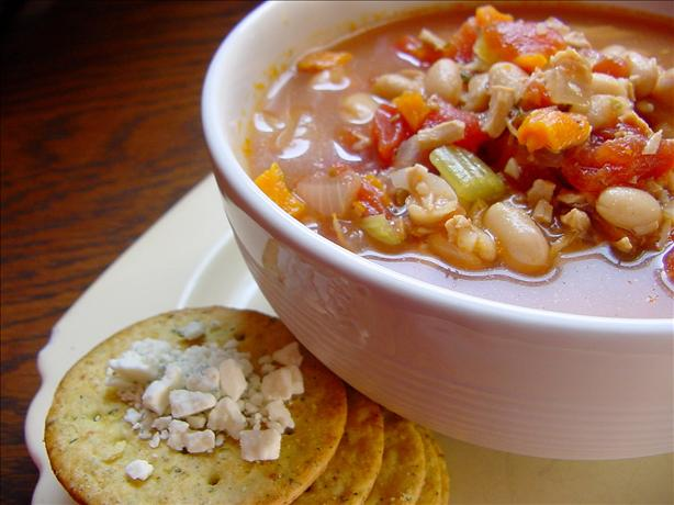Crock Pot Chicken and Bean Soup