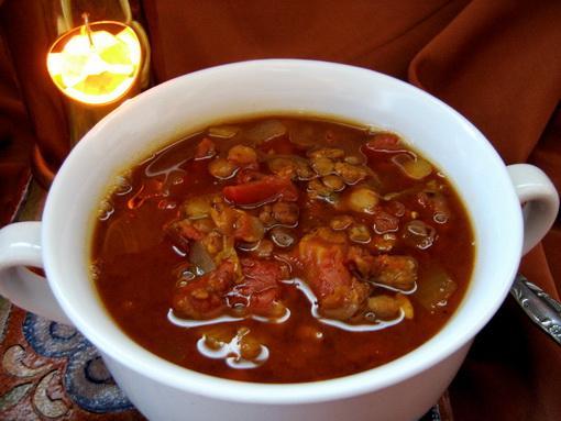 Country Hamburger Lentil Soup - Crock-Pot