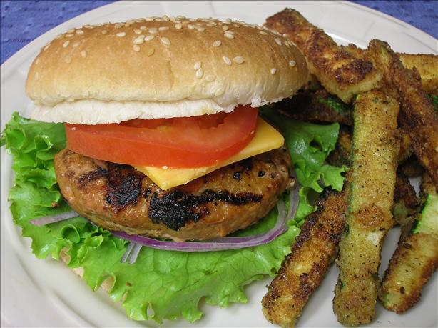Kittencal's Moist Turkey Burgers for the Grill (Low Fat)