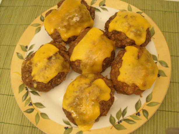 Not Your Mom's Meatloaf Patties