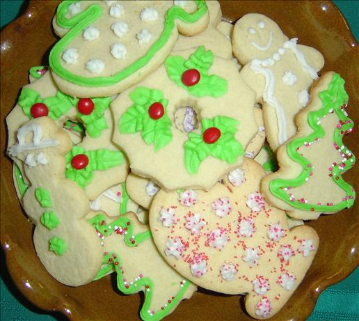 Elaine's Holiday Cut out Sugar Cookies - Christmas