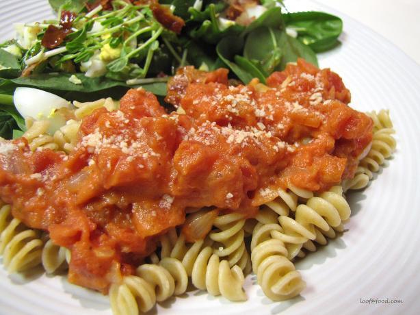 Tomato and Cream Pasta Sauce