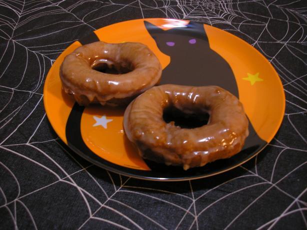 Pumpkin Buttermilk Doughnuts